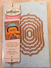 Spellbinders Nestabilities 6 Die Templates LABELS FOUR S4-190 NEW