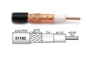BELDEN H1000 - CAVO COASSIALE BASSA PERDITA 10.3 mm 3 GHz MATASSA 15 METRI