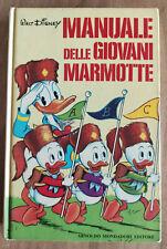 Manuale Delle Giovani Marmotte IV edizione 1970 Walt Disney Mondadori