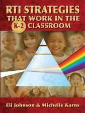 NEW - RTI Strategies that Work in the K-2 Classroom (Volume 2)