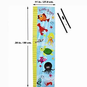Little Guppy Kids Growth Chart Measure Size