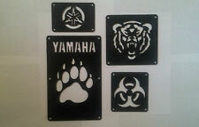 Yamaha Grizzly 660 Fender Warning Tags /NO decal