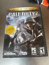 CALL OF DUTY 2 -ACTIVISION - PC GAME