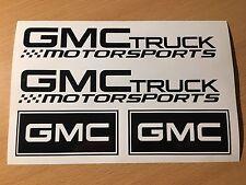 GMC Adesivi Set TRUCK Tuning USA v8 scene Offroad 4x4 PICK UP Motorsport Nuovo