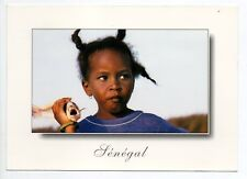 SENEGAL Afrique occidentale l'enfant au poisson fillette senegalaise