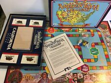Vintage Apple Computers Pepsi California Board Game 1980s Complete Rare Trivia