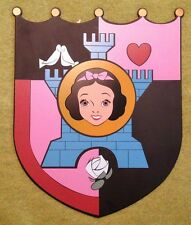 Disney Snow White Tin Sign LE 1500