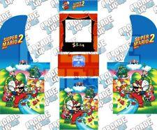 Arcade1up Arcade Cabinet Graphic Decal Complete Kits - Super Mario Bros. 2