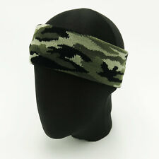 Forest Camouflage Camo Stretch Elastic Sport Headband Sweatbands Running Yoga