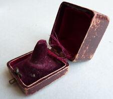 Ancien écrin boite pour bague ring jewel box bijou ancien 19e siècle