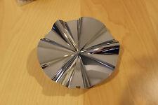 Polo Chrome Wheel Rim Snap In Center Cap MCD0195NA02 C0265 TRICON S2-16