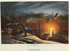Terry Redlin THE SHARING SEASON Signed Open Edition Print