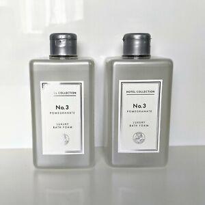 2 x ALDI No. 3 Luxury Bath Foam Pomegranate Hotel Collection 500ml New