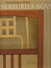 GUSTAVE SERRURIER-BOVY ARCHITECTURE DESIGN ART NOUVEAU DECO Watelet anglais RARE