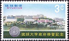 Ryukyu Islands - 1966 - 3 Cents Ryukyu Is. University Issue # 145 Mint F-VF Nice