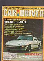 Car & Driver Magazine May 1978 BMW 733i Jaguar Lotus Porsche Mazda Trans Am