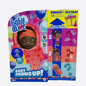 BABY ALIVE Baby Grows Up African American Interactive Doll Walmart Exclusive🔥🔥