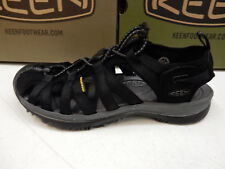KEEN WOMENS SANDALS WHISPER BLACK MAGNET SIZE 9.5