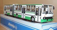 NEU Modell Gelenkbus IKARUS 280.64 weiss/grün 1:43, USSR, DDR, Ost-Block in OVP
