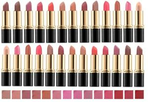 Revlon Super Lustrous Lipstick Various Colors, Read Listing.