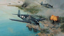 Hellcat Fury by Robert Taylor War in the Pacific Edition 9 signers w/extra print