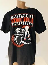 Social Distortion 2015 Summer Tour Tshirt Medium New  NWOT Mike Ness Skelly