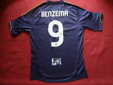 REAL MADRID KARIM BENZEMA AUTHENTIC SIGNED AWAY SHIRT- MEDIUM - NEW- PHOTO PROOF