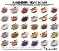 Shadow Sense by SeneGence Creme to Powder Eye Shadow LashSense With UnderSense