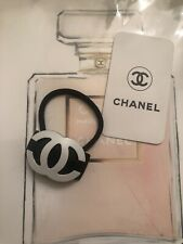 VIP GIFT CHANEL BEAUTY HAIR TIE CC LOGO