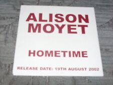 Alison Moyet:   Hometime  PROMO  CD   NM