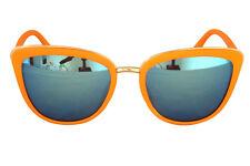 Foster Grant Fg69 mujer estilo gato naranja Plástico gafas de Sol azul lentes