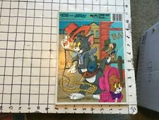 Vintage Frame Tray Puzzle -- TOM & JERRY  - 1984 complete