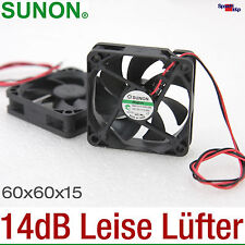 SEHR LEISE LÜFTER COOLER SUNON 60x60x15 60MM HA60151V4 14dB 2500RPM SILENT QUIET