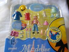 Madeline La Petite Nona Ski Skate Sport Puppy Dog Playset Doll 15 Pieces New