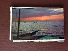 N3a Postcard Unused Sunset At Whitstable