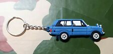 Landrover Range Rover Classic 3dr Collectors Key Ring - LIGHT BLUE