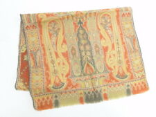 Auth ETRO Scarf Stole Paisley Pattern Silk Wool Italy Free Ship 94170024600 2