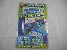 Panini Monster University Sticker Album Starter Pack Sealed and empty