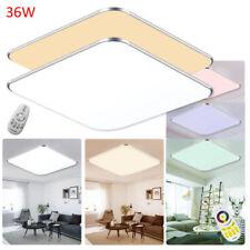 12W - 96W Slim LED Lámpara de techo Plafón lámpara Luces modernas Cocina Salón