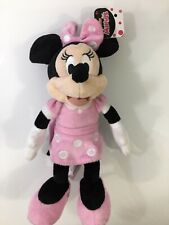 DISNEY JUNIOR MINNIE MOUSE 8inch PLUSHY FIGURE JUST PLAY