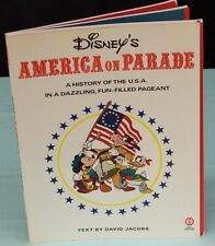 Disney's America On Parade Book. History USA Pageant with Foldout Sections