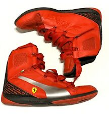 PUMA Ferrari Mens Shoes Size 9 US Hi Top Sneakers Casual Scuderia Ferrari