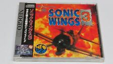 Sonic Wings 3 Aero Fighters 3 NeoGeo CD Japan not AES Brand NEW Sealed No Fading