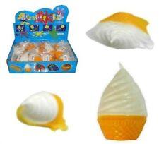 2 SPLAT ICE CREAM TOYS birthday party items NEW squishy novelty toy balls NV875