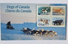 New ListingDogs of Canada 1988 Commemorative Stamps (Newf, Toller, Eskimo) 4 Stamps Per Set