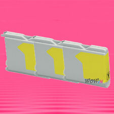 3P LC51Y YELLOW INK CARTRIDGE FOR BROTHER DCP 130C 340C