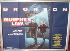 Cinema Poster: MURPHY'S LAW 1986 (Quad) Charles Bronson Carrie Snodgress