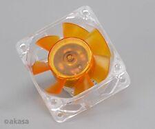 Akasa Ultra Quiet 60mm Amber Case Fan 2 Ball Bearing