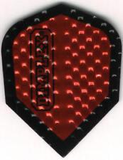 Metalic Red Dimplex Dart Flights: 3 per set