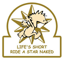 Ride a Star Naked Patch